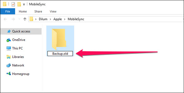 How to Change the iTunes Backup Location on Windows.