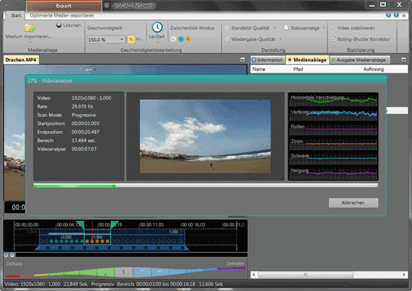 ReSpeedr is an exceptional video editor that enables us to add ultra-slow motion effects to our videos.