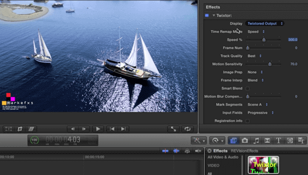 Twistor is a slow-motion video editor.