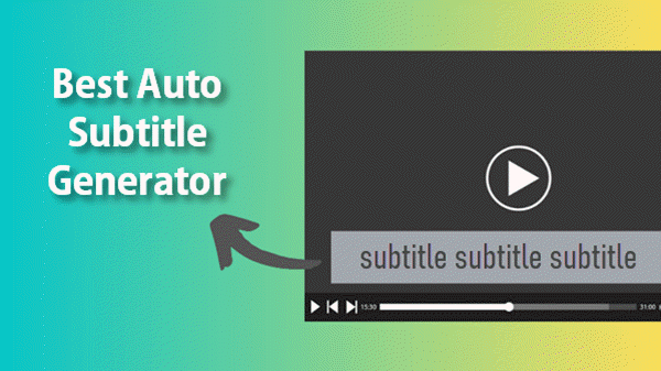 Auto Generate Subtitles from Videos.