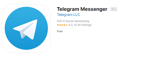 Telegram is a pure instant messenger that promises fast and secure messages.