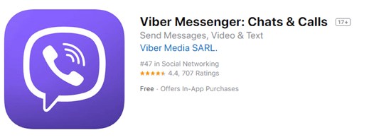 Viber is another one of the best texting apps for iPhone.