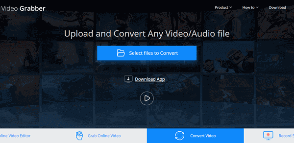 Follow these steps for cropping a video using Video Grabber