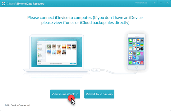 Retrieve Deleted Voice Memos on iPhone via iTunes Backup