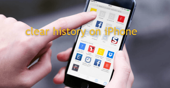 Clear History and App Cache on iPhone