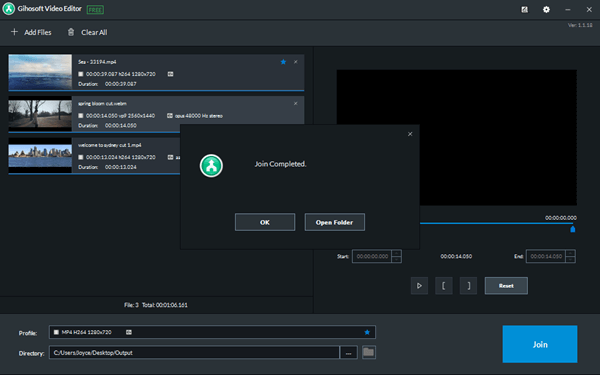 How to Cut Join Multiple Videos Together