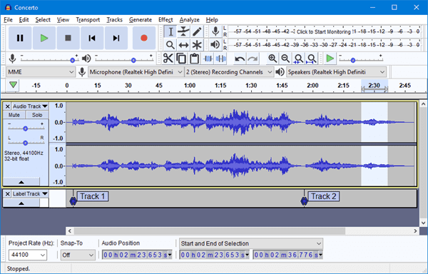 How to Record Sound in Windows 10 Using Audacity