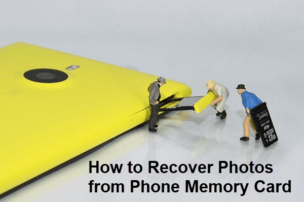 Recover Deleted Photos from SD Card