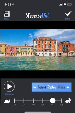 Reverse Vid - Reverse Video App for iOS