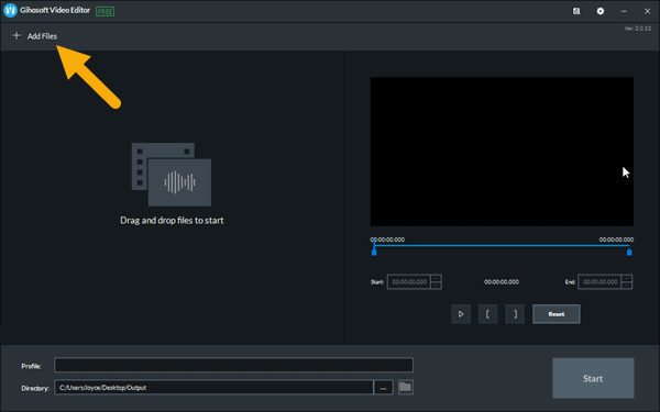 How to Trim the Middle of a Video with Gihosoft Free Video Cutter
