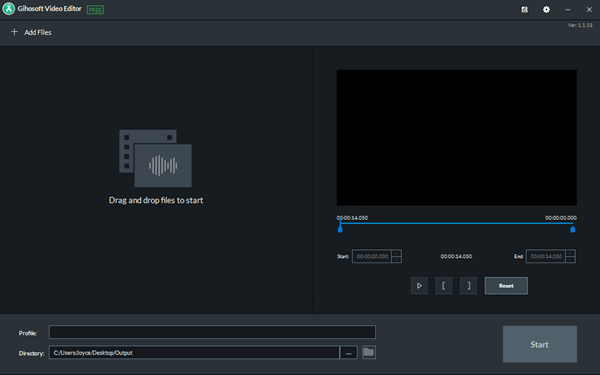 To cut a YouTube video with this free YouTube video cutter,