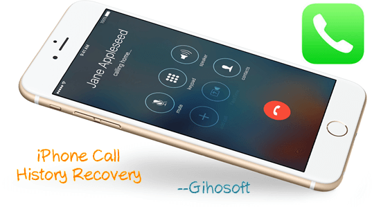 ecover Deleted Call History on iPhone