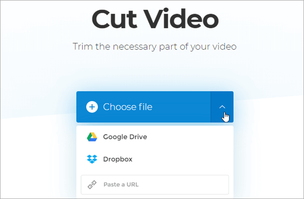 Open the Tool and Paste the Video URL