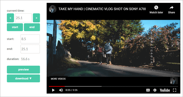 YT Cutter is one of the best online tools for clipping YouTube videos.