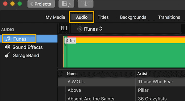 Now, see how easy it is to add music to a video free on a Mac computer.
