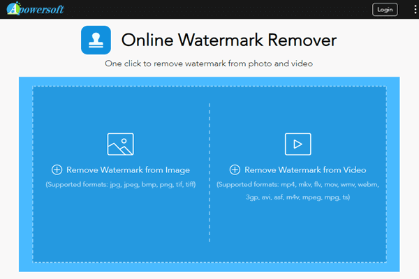 Keep reading to know how to remove watermark from video online with this tool